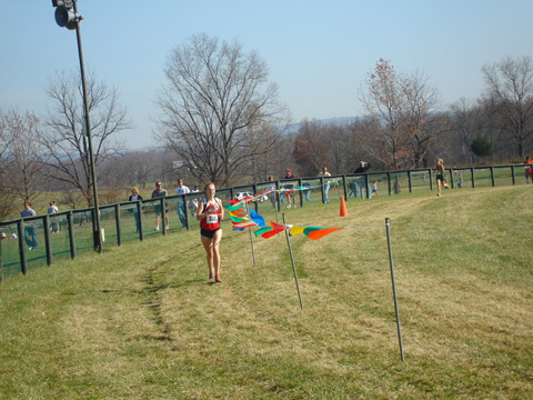 Susanna Sullivan led Mason with a third-place finish. (Photo: Sarah Sullivan)