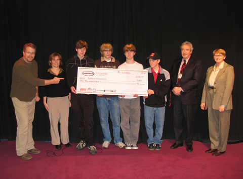 "Falls Church Community Television's ""School Spirit"" program's $1000 Giveaway"